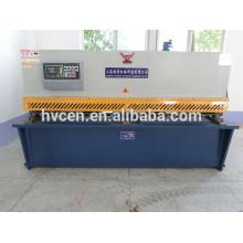 QC11Y-12 * 3200 hydraulische CNC 12mm Dicke Metallplatte Schneidemaschine