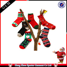 16FZCSS3 knitted ugly christmas sock