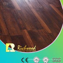 12.3mm E0 HDF AC3 Embossed Oak V-Grooved Laminated Flooring