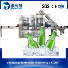 Full Auto Glass Bottle Liquor Wine Beer Filling Capping Machine