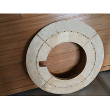 Verdichteter Druckring aus laminiertem Holz