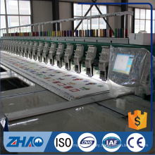 8 heads flat double tapping device embroidery machine cheap price
