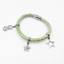 Magnet Style Charm Bracelet Fashion Jewelry, Custom Made Charm Bracelet
