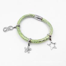 Jóia da forma do bracelete do encanto do estilo do ímã, bracelete feito-à-medida do encanto