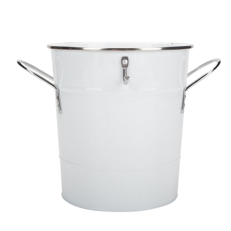 Lid Ice buckets with scoop