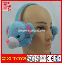 Ear warmer bear plush toy earmuff headphone