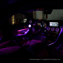 Lumières de câble optique de lueur latérale de fibre pour la voiture