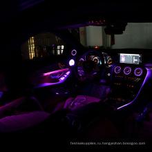 Волоконно-оптические боковые световые кабели для автомобилей