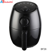 Anbolife electric 2L without oil oilless smokeless multi-functional mechanical control knob air fryer