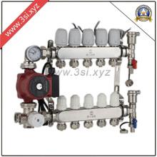 Separador de água modulante para sistema de aquecimento de piso (YZF-1001)