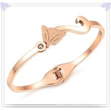 Bracelet à bijoux en acier inoxydable en bijouterie de mode (BR117)