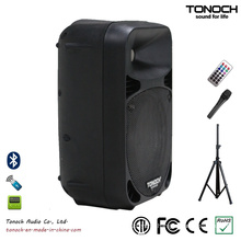 Popular 10 Inches Plastic Speaker Box with Excellent Performance