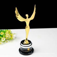 Premio de trofeo Oscar de cristal de Ángel personalizado - Grabado gratuito