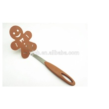 Creative Nylon Gingerbread Man Slotted Kitchen Turner