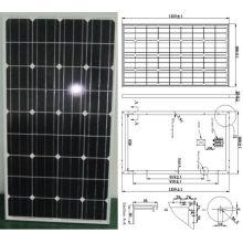 Модуль 18В 110 Вт 115 Вт 120 Вт Монокристаллического панели солнечных батарей PV с CE утвержденный (СМП-110 Вт)