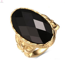 New Arrival Stainless Steel Rose Gold Rope Shape Design Rings