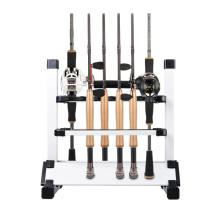 FSRK002 high quality aluminum alloy fishing rod display rack
