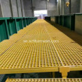 Glasfiber Dock Trench Grating Span Tabeller