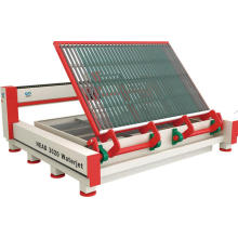 High pressure 380Mpa waterjet cutting machine for glass