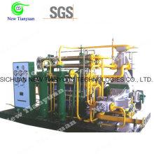 25MPa Рабочее давление Природный газ Заправочная станция CNG Использование Компрессор