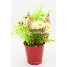 Décoration de scène en fleurs artificielles de printemps