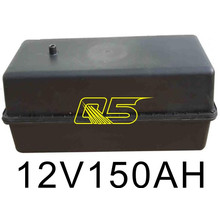 150A Solar-Batterie-Boden-Box Unterirdische Solar-Wasserdichte Batterie-Box