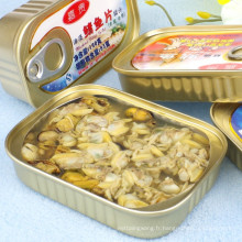 huître en conserve