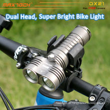 Maxtoch DX21 2pcs U2 LED Licht geringes Gewicht hell intelligente CREE LED Fahrrad Licht