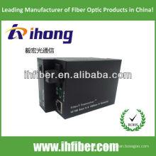 10 / 100M Fibre Optique Convertisseur de média monomode mono fibre SC port 20km