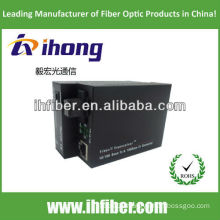 10/100M Fiber Optic Media Converter singlemode single fiber SC port 20km