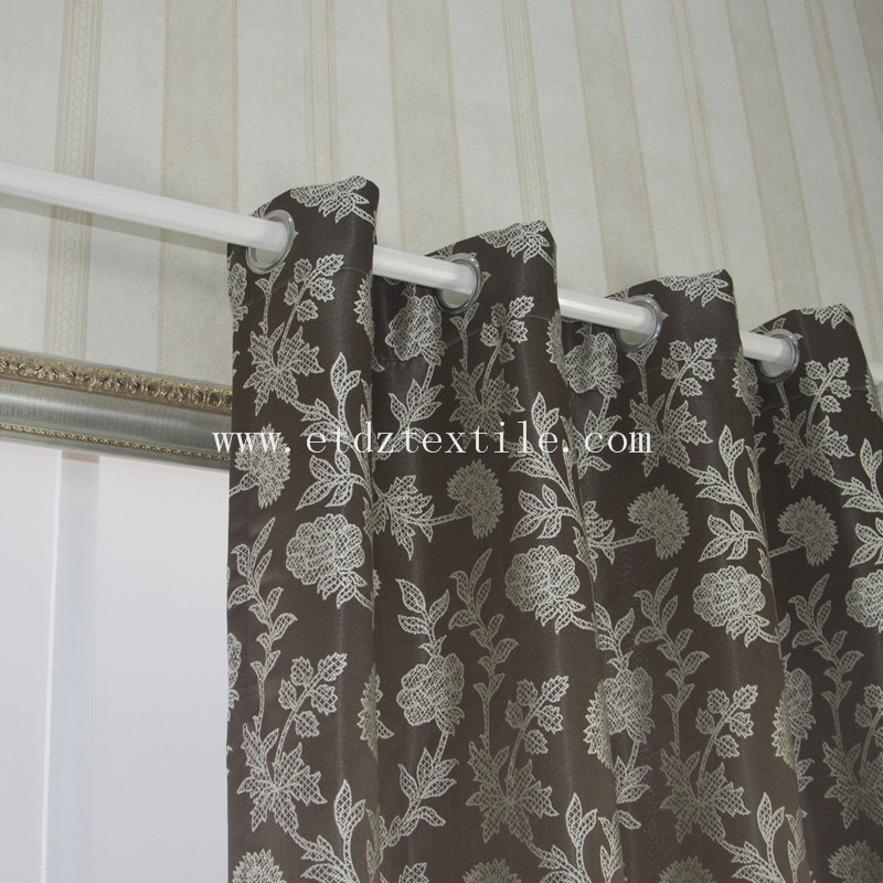 embroidery fabric curtain