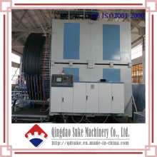 Máquina de tubo de bobinado hueco de doble pared PE (SJ65 / 33)