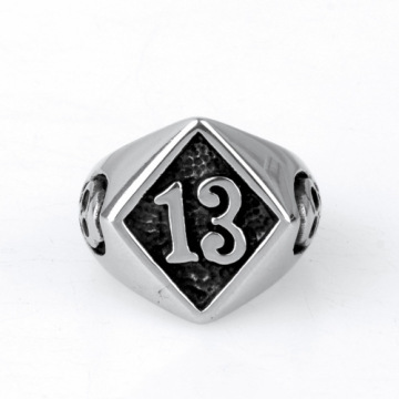 Casting Edelstahl College Brief Ring