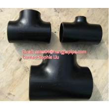 ASTM A234-WPB butt welded pipe tee fittings