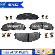 Kits de plaquettes de disque de frein avant OEM # DC3Z-2001-E pour 2011-2016 F250 F350 F450 Super Duty