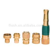 5pcs Brass Hose Basic Fitting Set