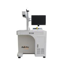 High Effective 20W 30W 50W 70W 120W Laser Fiber Marking Machines For Metal Deep Engraving