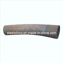 Solda tubo montagem curva
