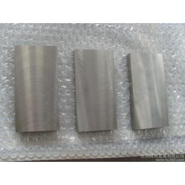 Stock de placa de tungsteno puro