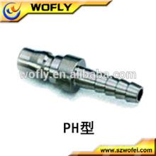 Encaixes de 8-12mm acoplamentos de ar de liberação rápida