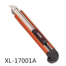 Cor alumínio liga utilitário faca, estilete Mini
