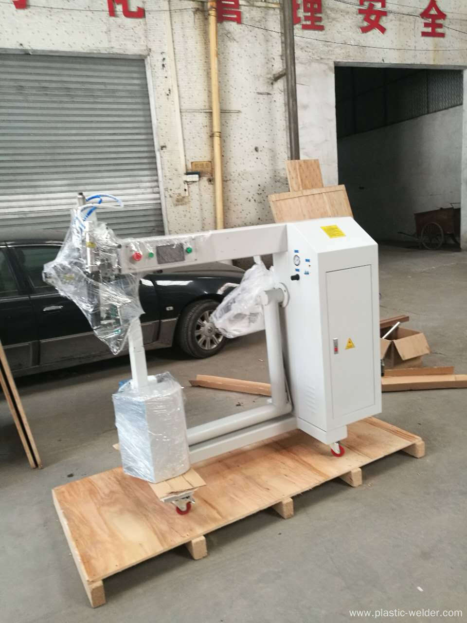 Air Filter Bag Hot Air Welding Machine