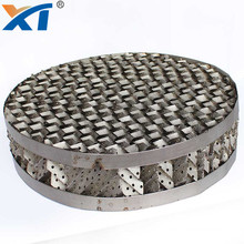 Low Pressure and Maximum Capacity 250Type Metal Structured Packing