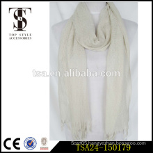 simple elegant light weight cotton material solid color muslim women scarf
