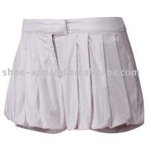2013 Nouvelle conception de jupe de tennis blanc