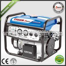2.3KW / 6.5HP TG2700SE Benzin-Generatoren Set Motorrad-Schalldämpfer Spannung und Strom Meter