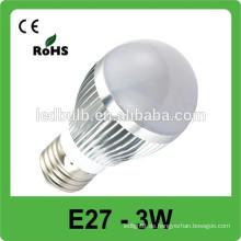 Hohe Helligkeit 3W MR16 LED Punktlicht / 3W GU10 E27 führte Punktlicht