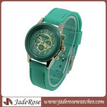 Heißer Verkauf Multi Farbe Strap Quarz Damen Silikon Uhr