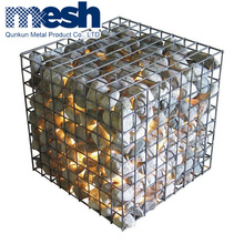 Welded Gabion Box Stone Basket Wall