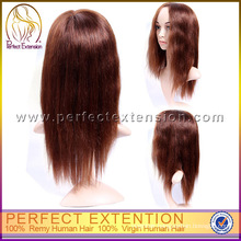 Best Price Malaysian Remy Mono Top Human Hair Yaki Front Lace Wig